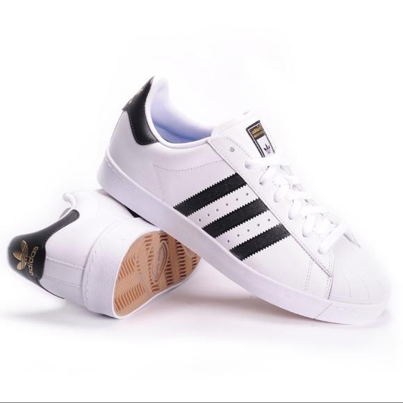newest b5994 56367 Adidas Superstar Vulc ADV shoes sneaker superstars
